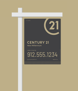 New CENTURY 21 Yard Sign
